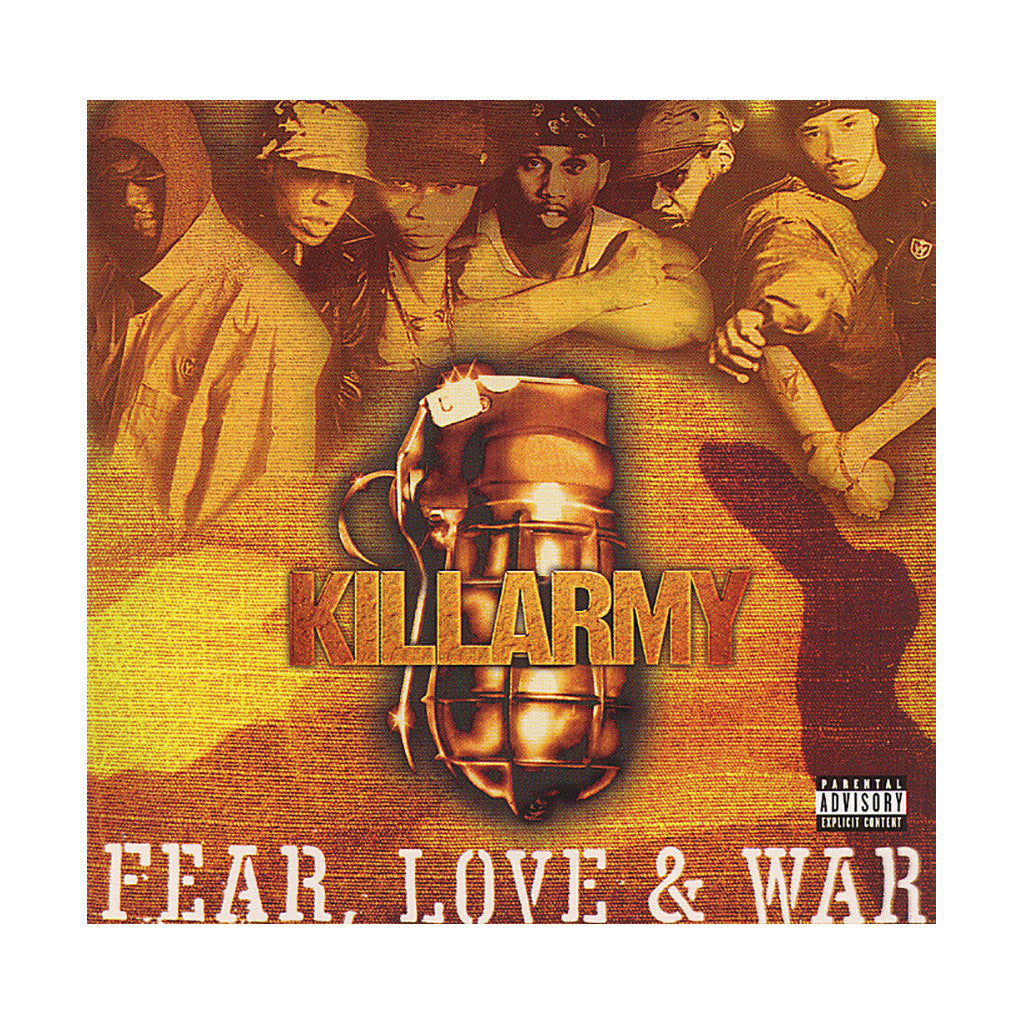 <!--020010925002654-->Killarmy - 'Fear, Love & War' [CD]