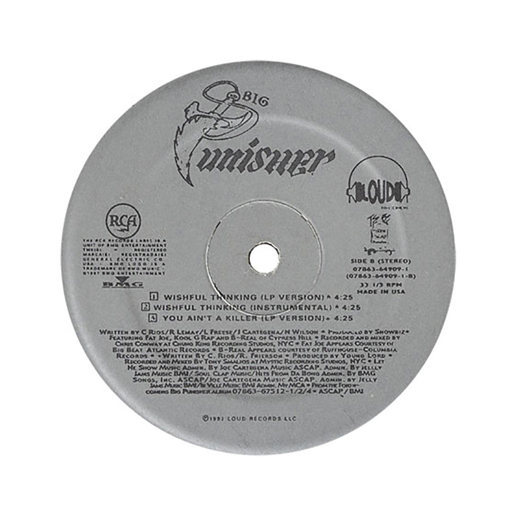 "<!--019970101012534-->Big Pun - 'I'm Not A Player/ Wishful Thinking/ You Ain't A Killer' [(Black) 12"" Vinyl Single]"