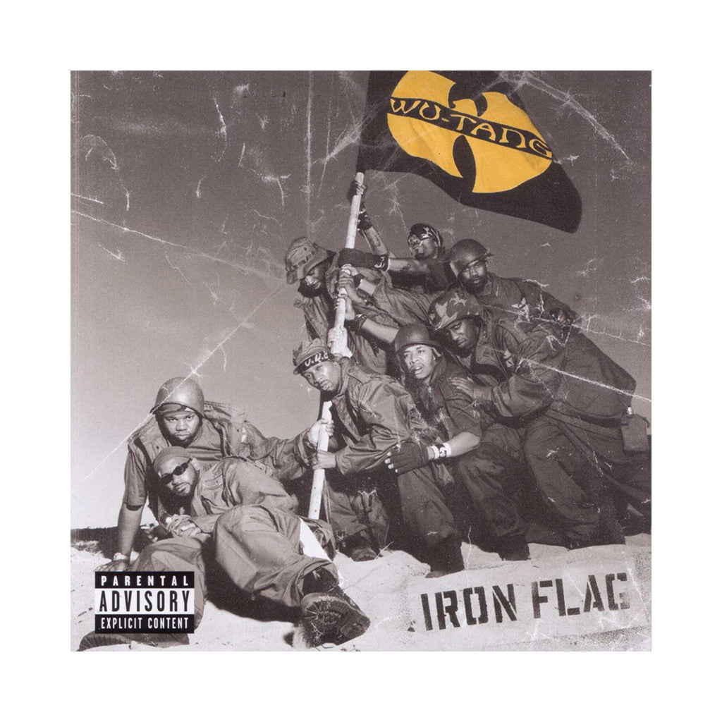 <!--020011218000061-->Wu-Tang Clan - 'Iron Flag' [CD]