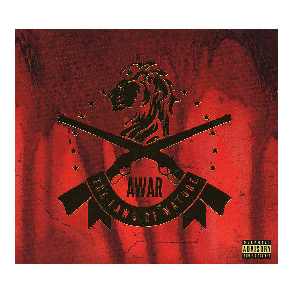 AWAR - 'The Laws Of Nature' [CD]