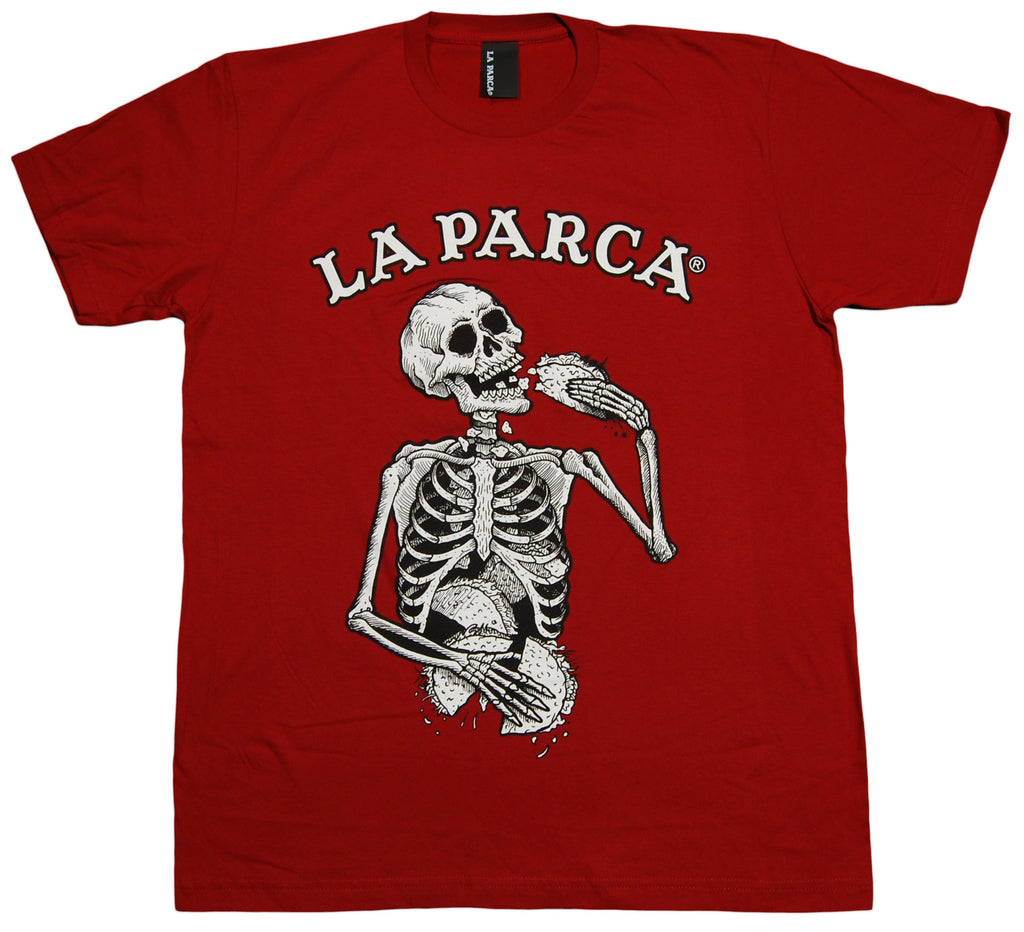 <!--2012100946-->La Parca - 'Taco' [(Dark Red) T-Shirt]