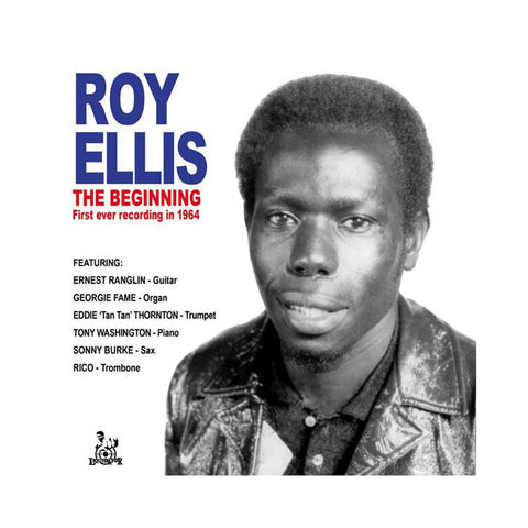 "Roy Ellis - 'The Beginning: First Ever Recording In 1964' [(Black) 7"" Vinyl Single]"