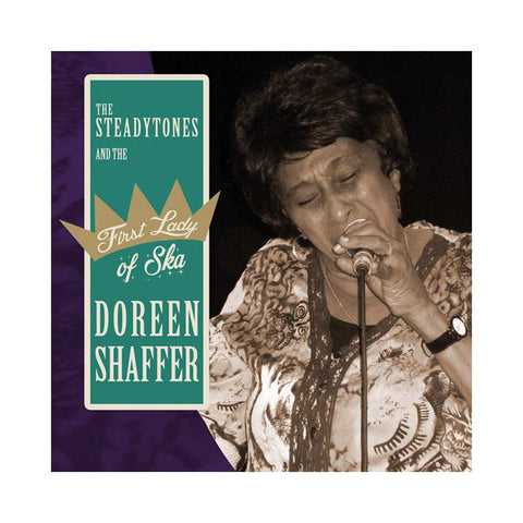 "Doreen Shaffer & The Steadytones - 'First Lady of Ska' [(Black) 7"" Vinyl Single]"