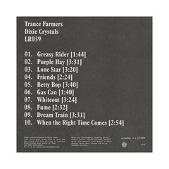 <!--120140916064664-->Trance Farmers - 'Dixie Crystals' [(Black) Vinyl LP]