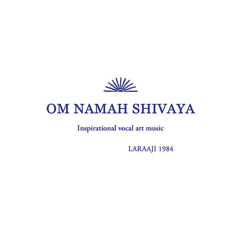 "[""Laraaji - 'Om Namah Shivaya' [(Orange) Vinyl LP]""]"