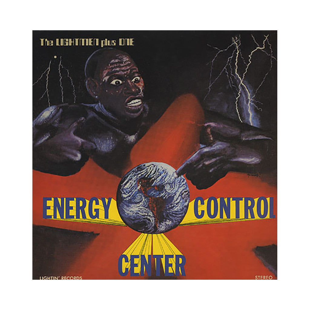 The Lightmen Plus One - 'Energy Control Center' [(Black) Vinyl LP]