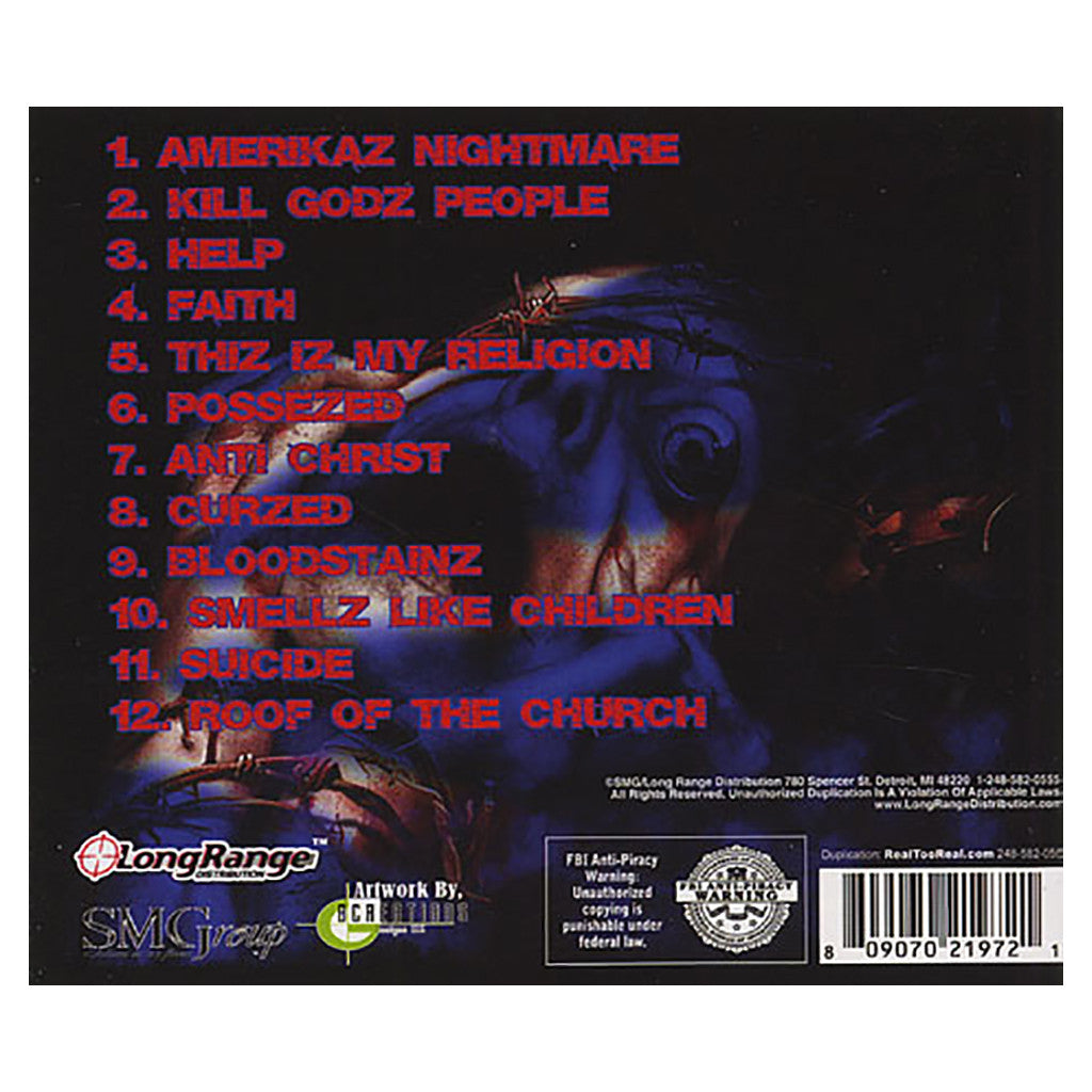 Cap-1 - 'Amerika's Nightmare' [CD]