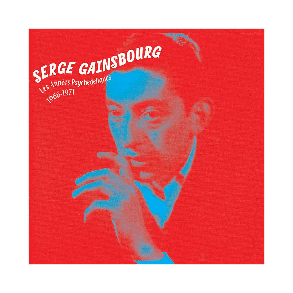 <!--020071225012686-->Serge Gainsbourg - 'Les Annees Psychedeliques: 1966-1971' [CD]