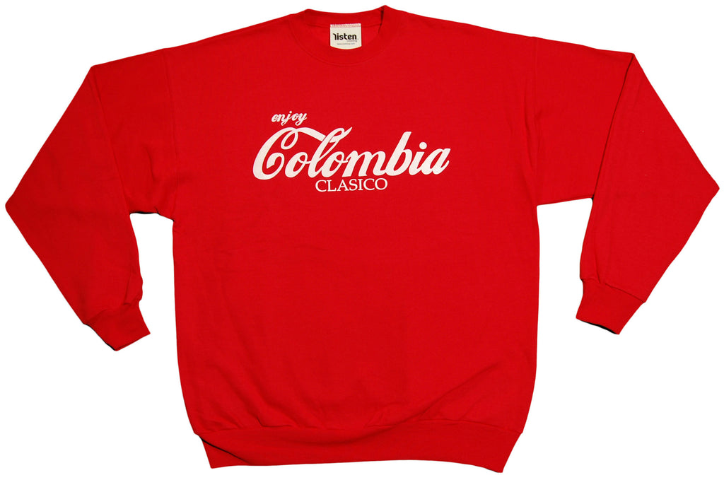 <!--2012121813-->Listen Clothing - 'Colombia Clasico' [(Red) Crewneck Sweatshirt]