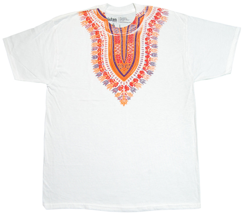 <!--2012091845-->Listen Clothing - 'Dashiki' [(White) T-Shirt]