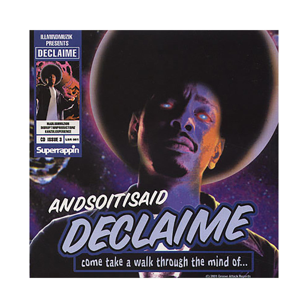 Declaime - 'Andsoitisaid' [CD]