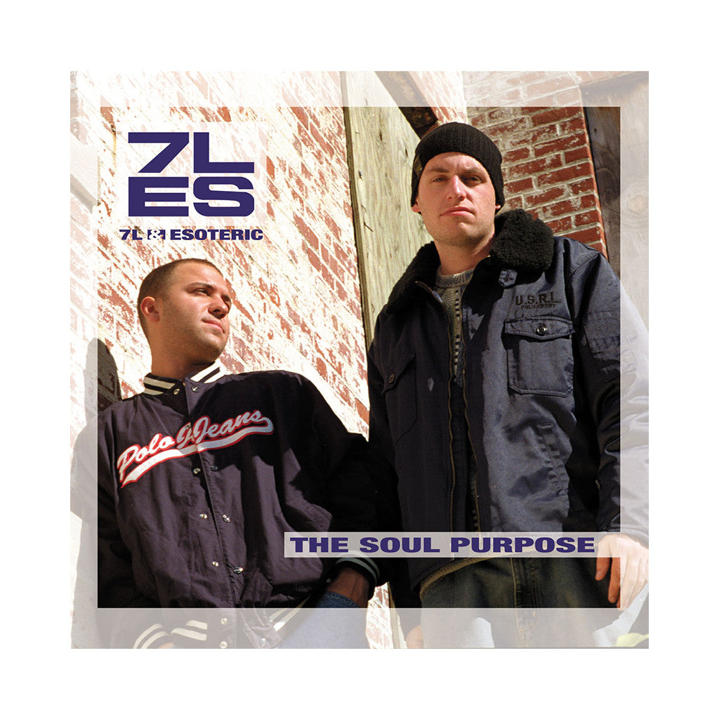 7L & Esoteric - 'The Soul Purpose' [CD]