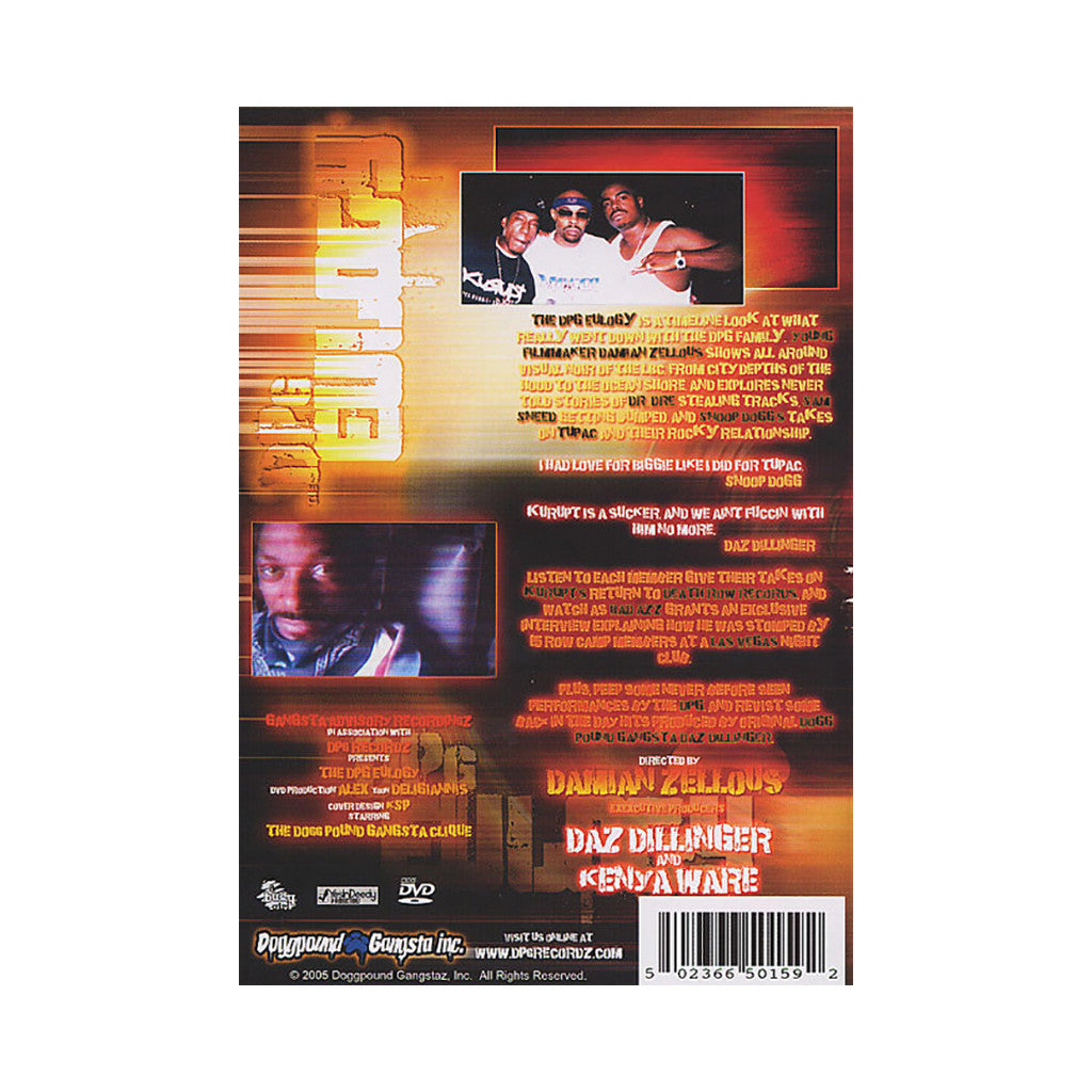 <!--020070320009127-->DPGC (Dogg Pound Gangsta Click) - 'The DPGC Eulogy' [DVD]
