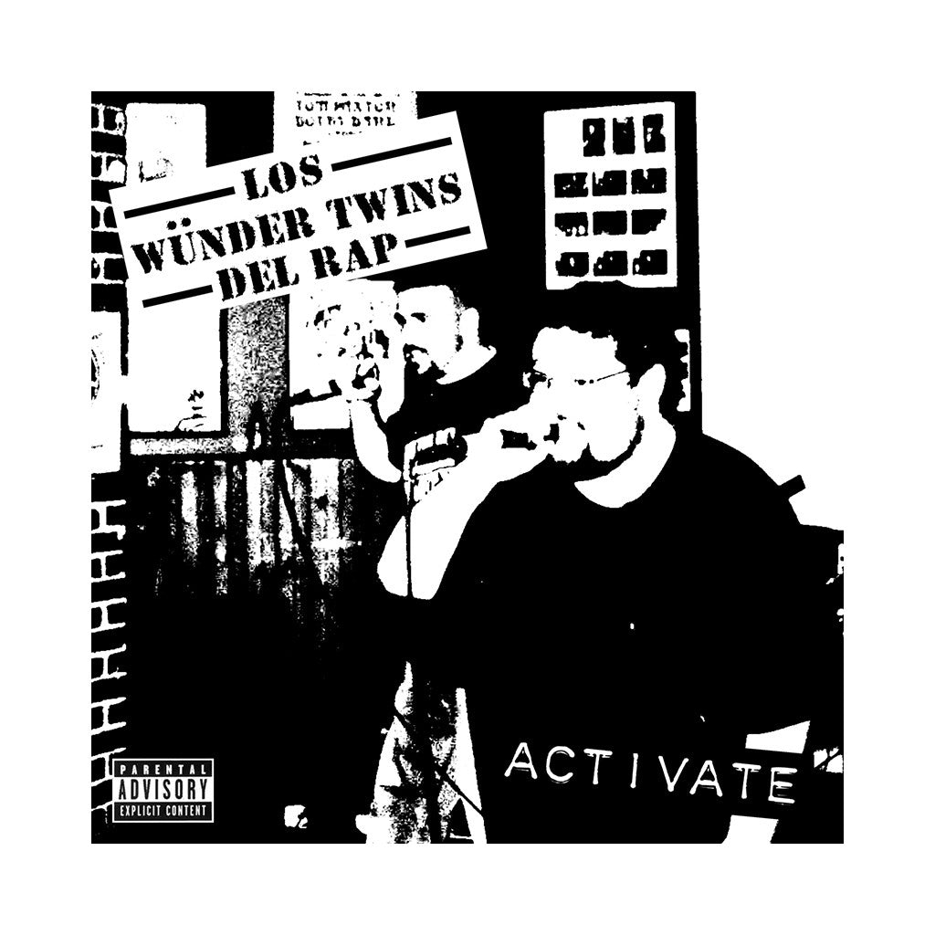 Los Wunder Twins Del Rap - 'Activate' [CD]