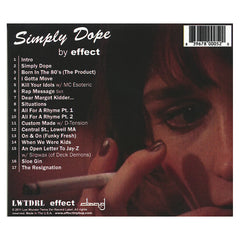 <!--120110621031136-->Effect - 'Simply Dope' [CD]
