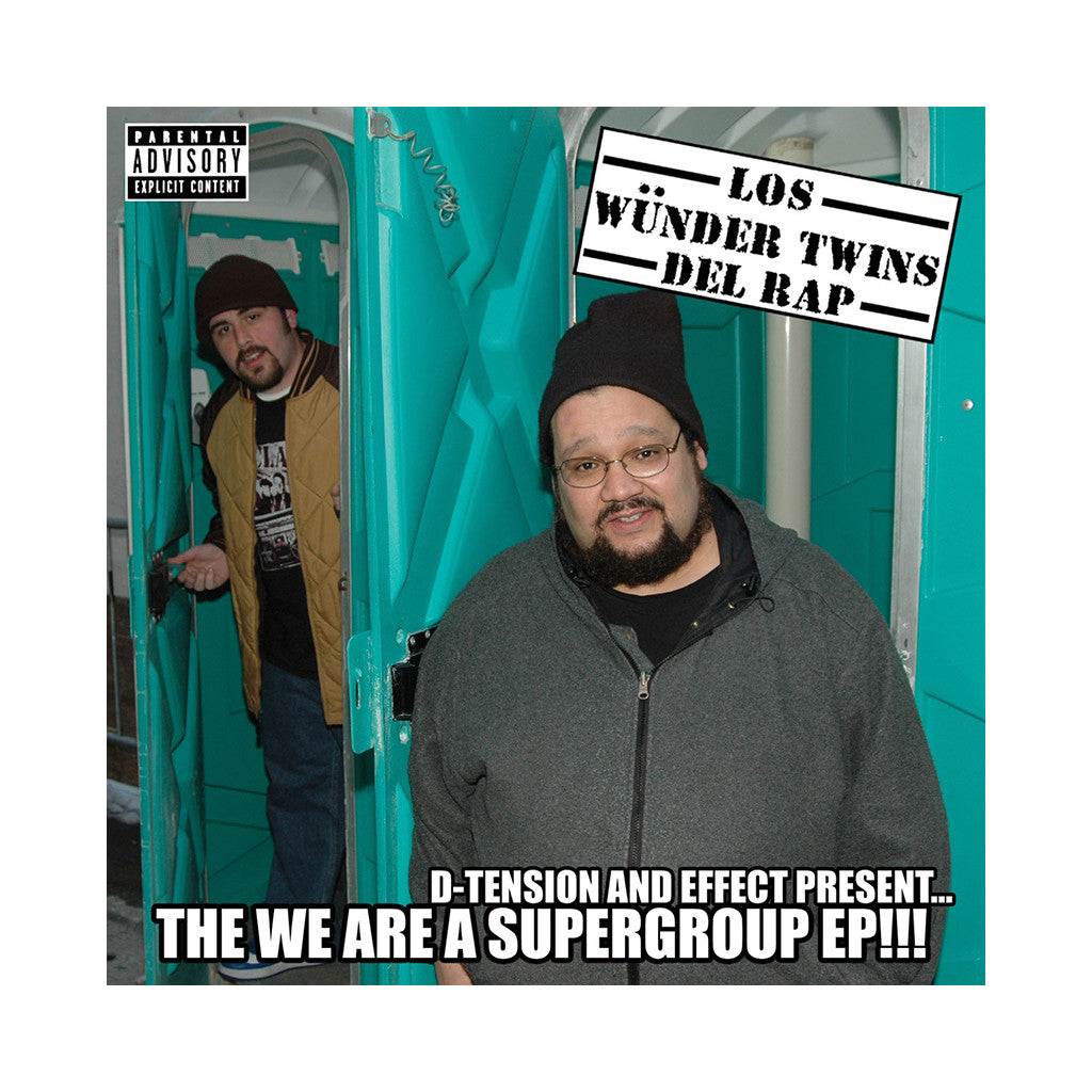 <!--120070626009891-->Los Wunder Twins Del Rap - 'The We Are A Supergroup EP' [CD]