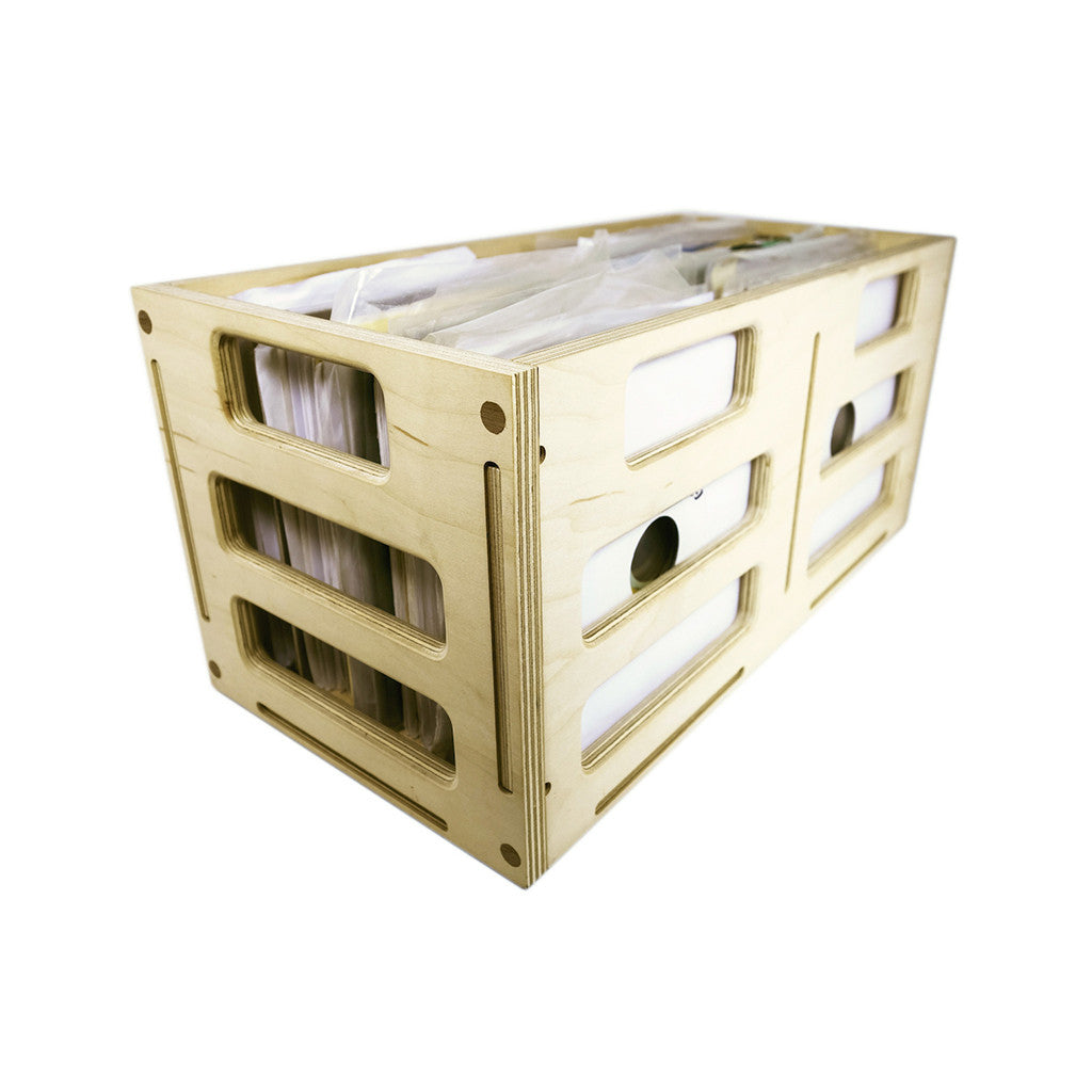 "<!--020150201002396-->Lookwright - ''The Dub Crate' 7"" Vinyl Crate' [Storage]"