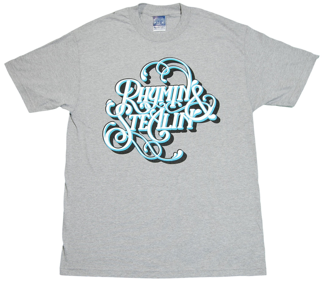 <!--2011121329-->Manifest - 'Rhymin & Stealin' [(Gray) T-Shirt]