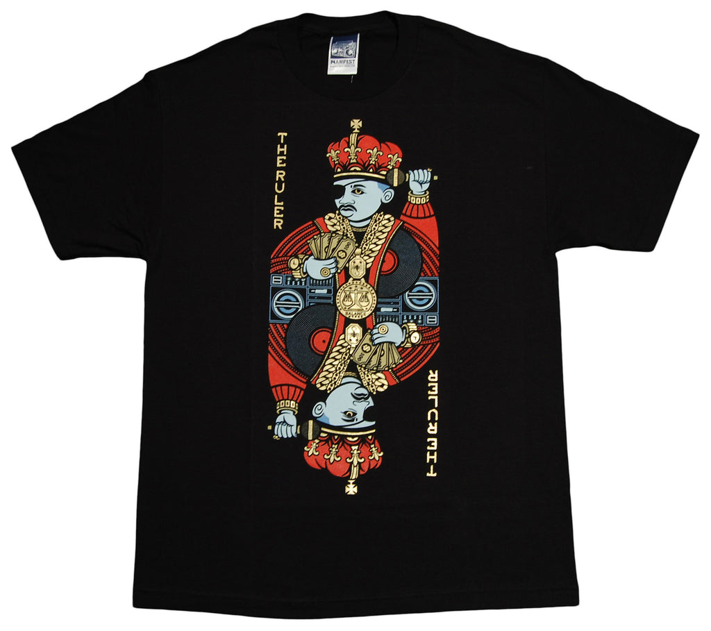 <!--2010041606-->Manifest - 'The Ruler' [(Black) T-Shirt]