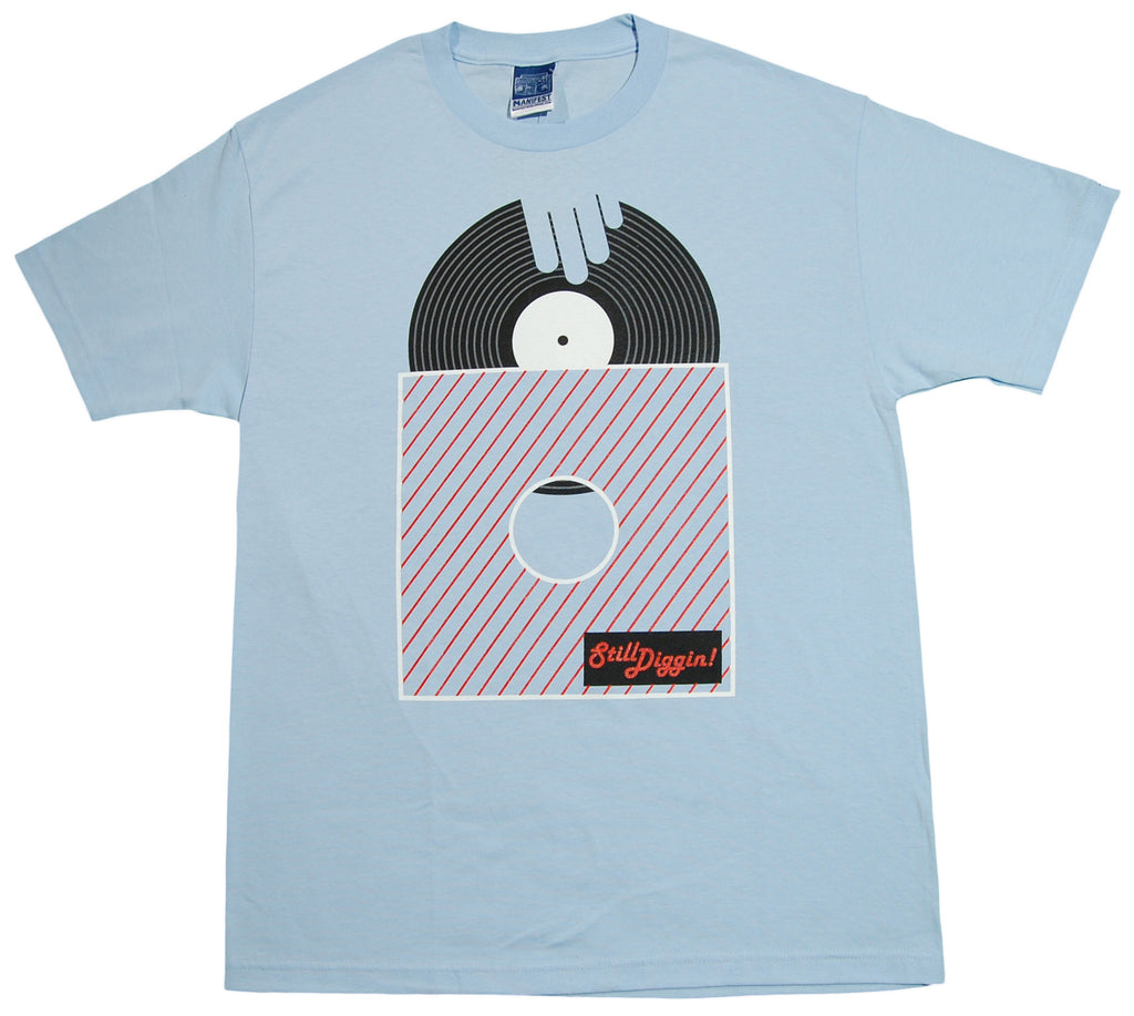 <!--2012122559-->Manifest - 'Still Diggin' [(Light Blue) T-Shirt]