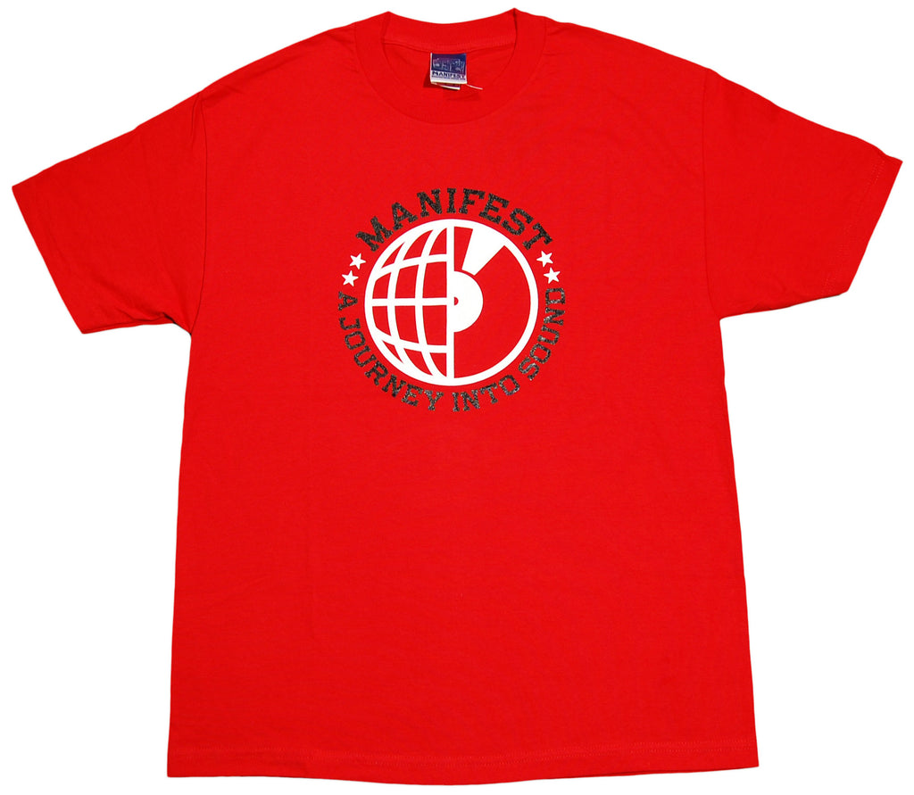 <!--2011121322-->Manifest - 'Journey Into Sound' [(Red) T-Shirt]
