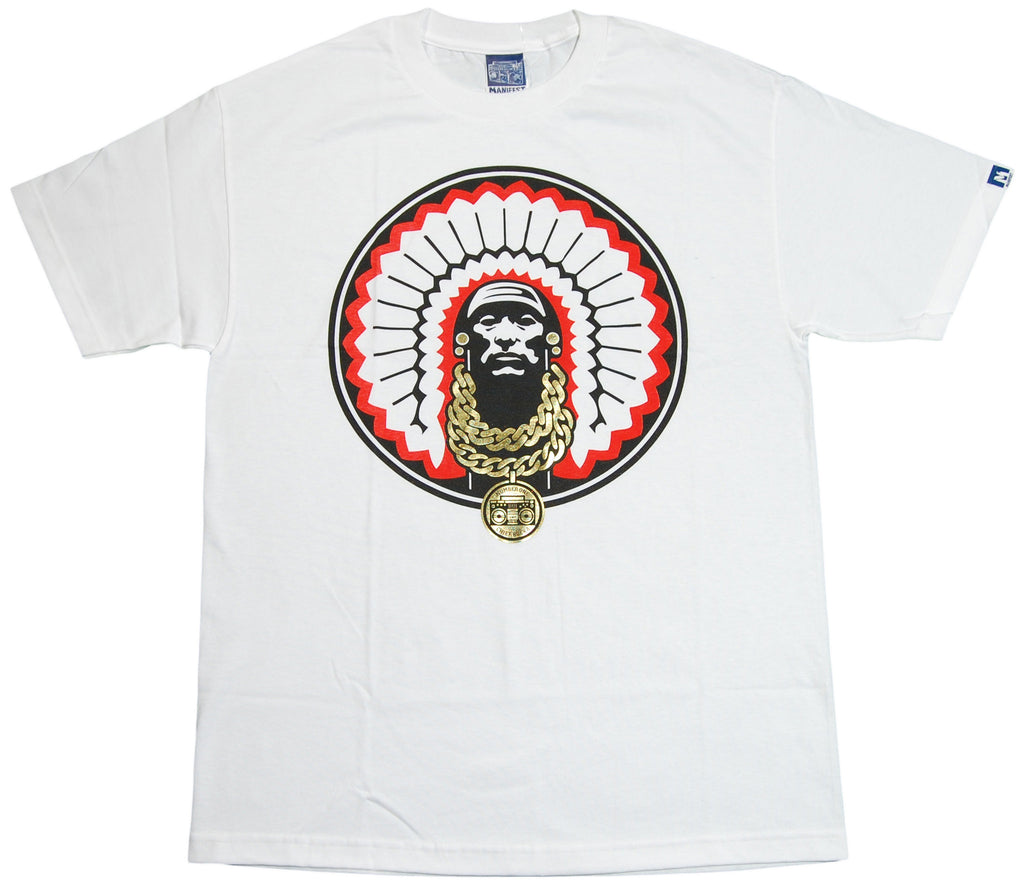 <!--2012060559-->Manifest - 'Chief Rocka' [(White) T-Shirt]