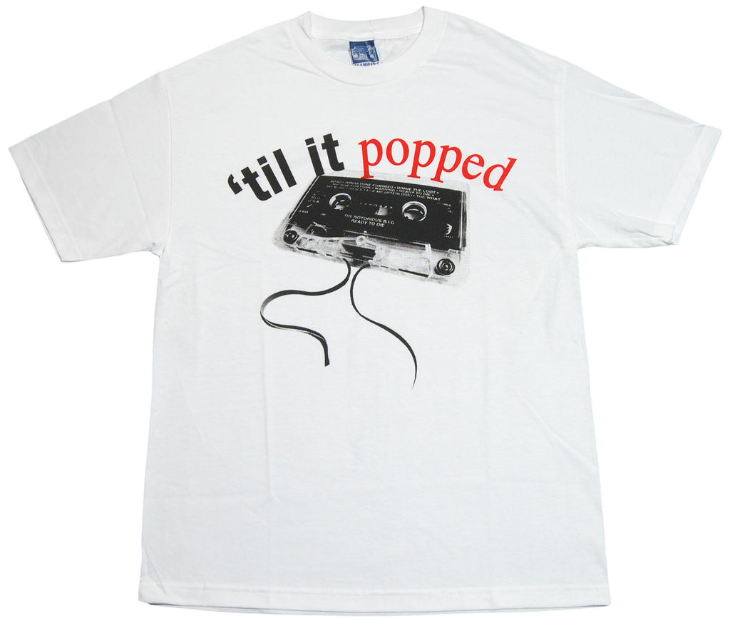 <!--2012060505-->Manifest - 'Biggie Tape' [(White) T-Shirt]