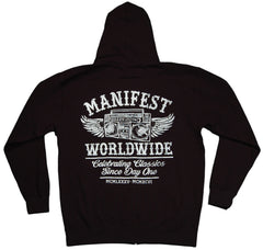 <!--2011121325-->Manifest - 'Celebrating Classics' [(Black) Hooded Sweatshirt]