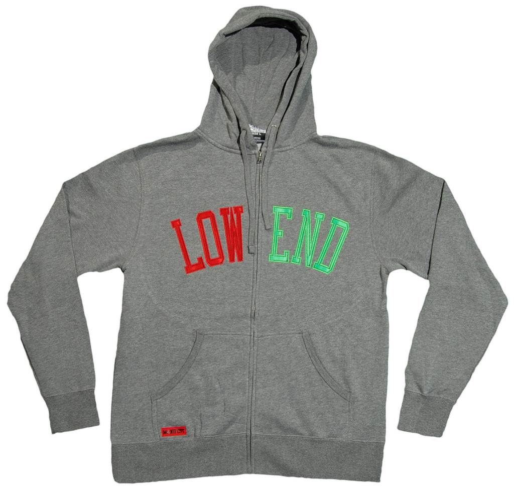 <!--2012061927-->Manifest - 'Low End' [(Gray) Hooded Sweatshirt]