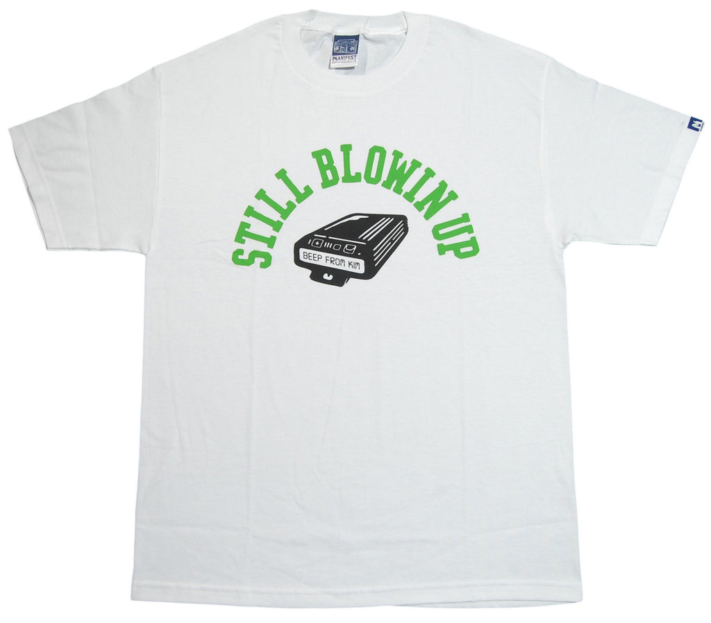 <!--2012122539-->Manifest - 'Blowin Up' [(White) T-Shirt]