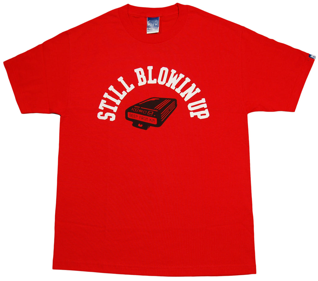 <!--2012122501-->Manifest - 'Blowin Up' [(Red) T-Shirt]