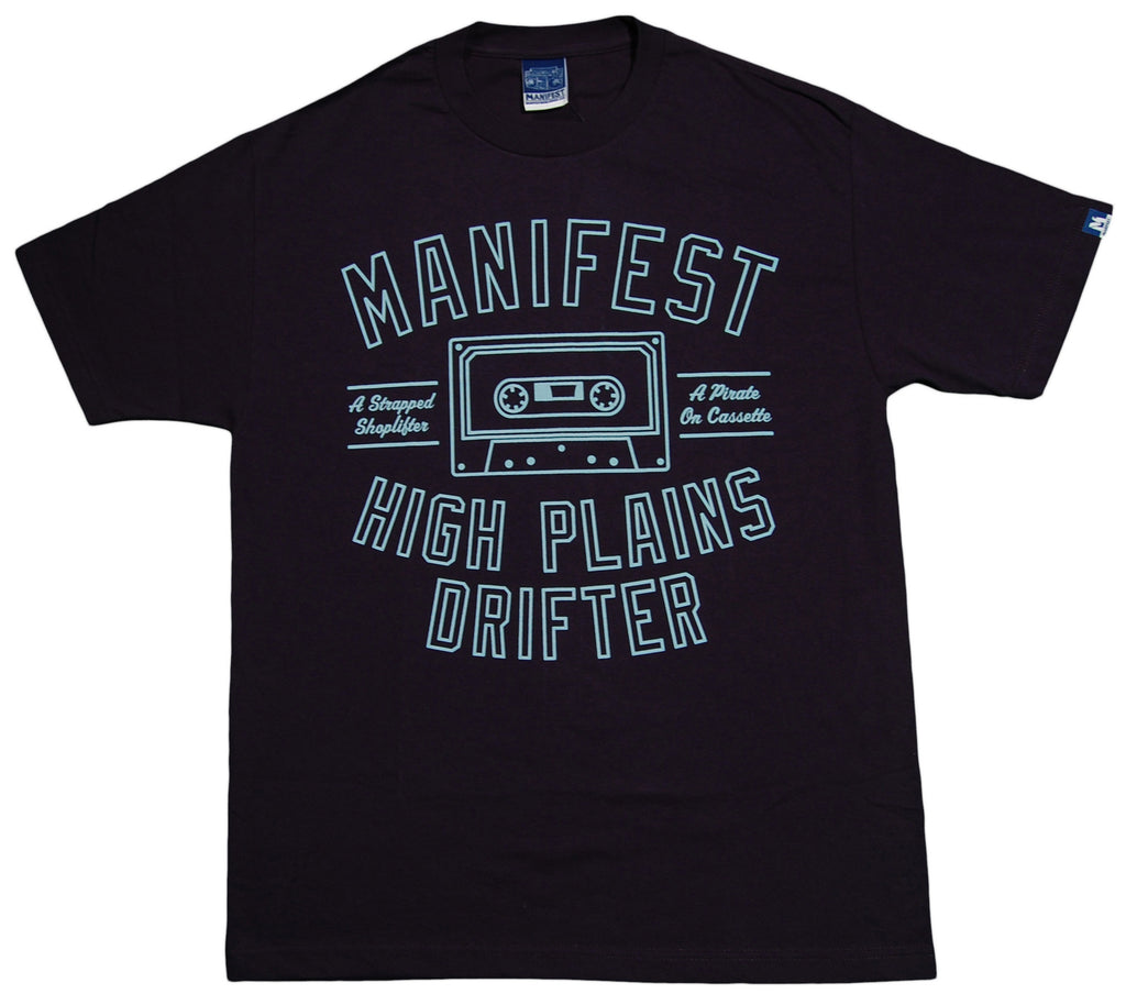 <!--2012122526-->Manifest - 'High Plains Drifter' [(Dark Blue) T-Shirt]