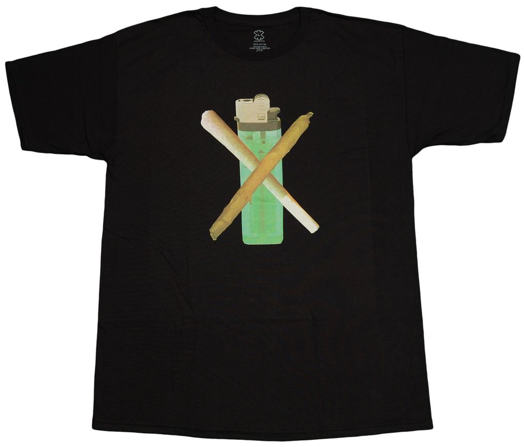 <!--2012060537-->X-LARGE - 'Burner' [(Black) T-Shirt]