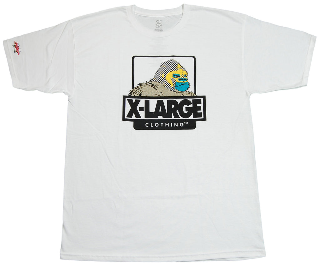 <!--2012060530-->X-LARGE - 'Go'Lucha Dor' [(White) T-Shirt]