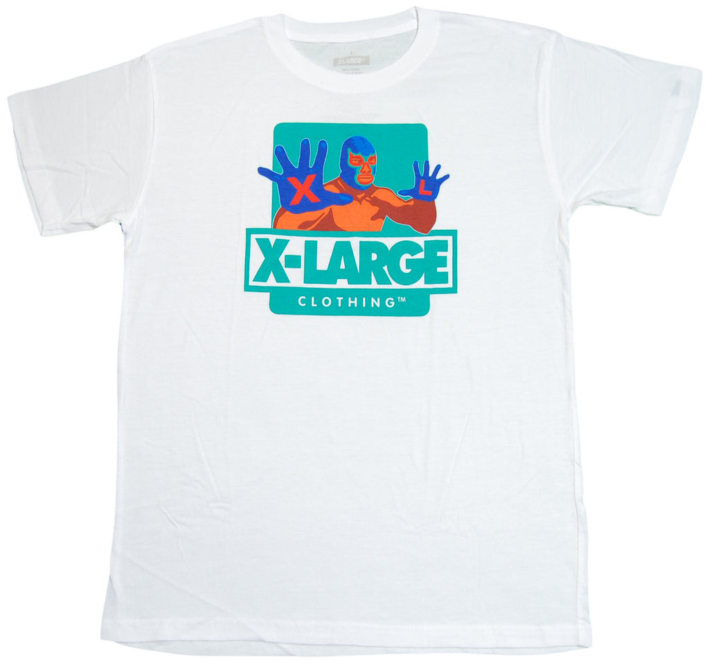 <!--2012071749-->X-LARGE - 'Mex Large' [(White) T-Shirt]