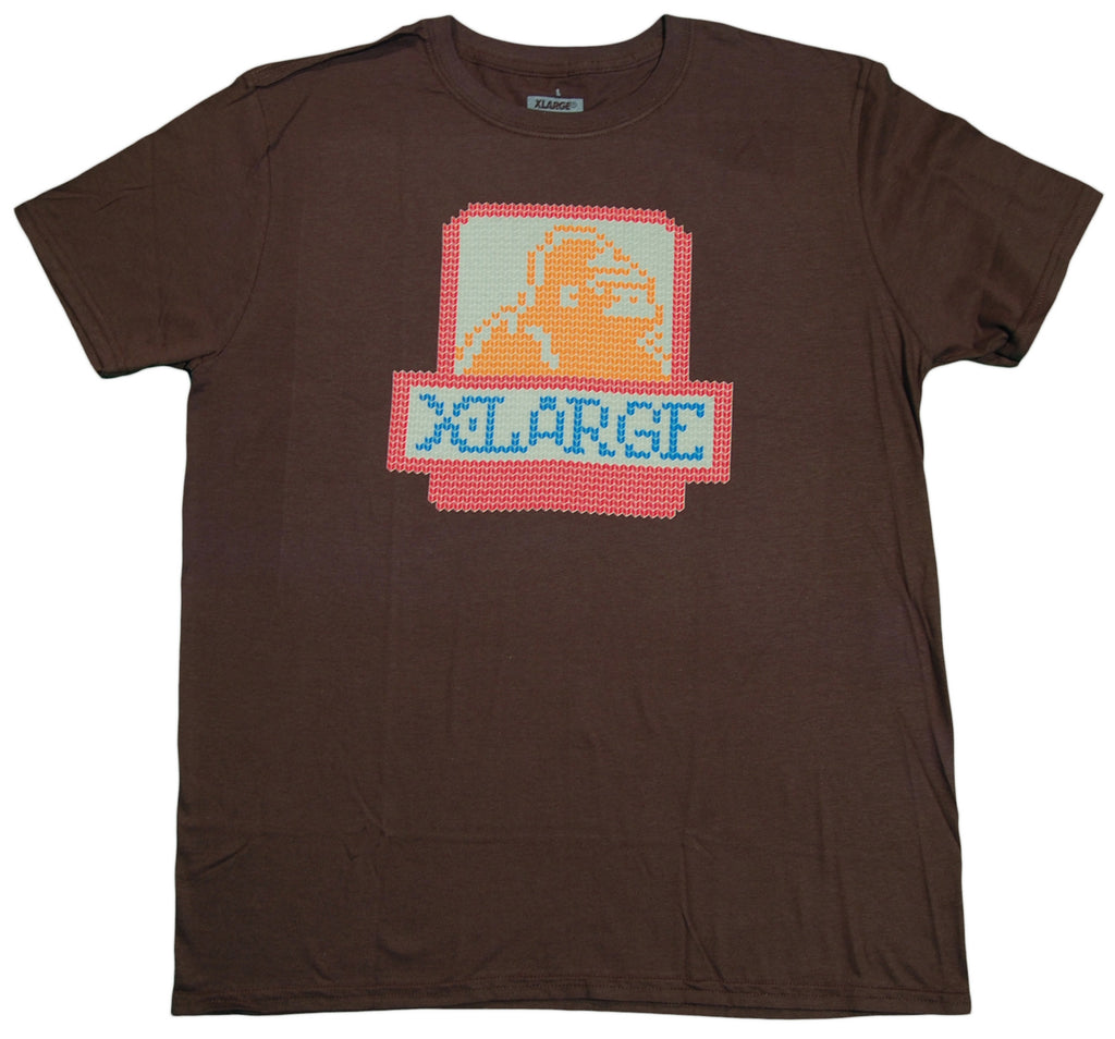 <!--2012092514-->X-LARGE - 'Knitted OG' [(Dark Brown) T-Shirt]