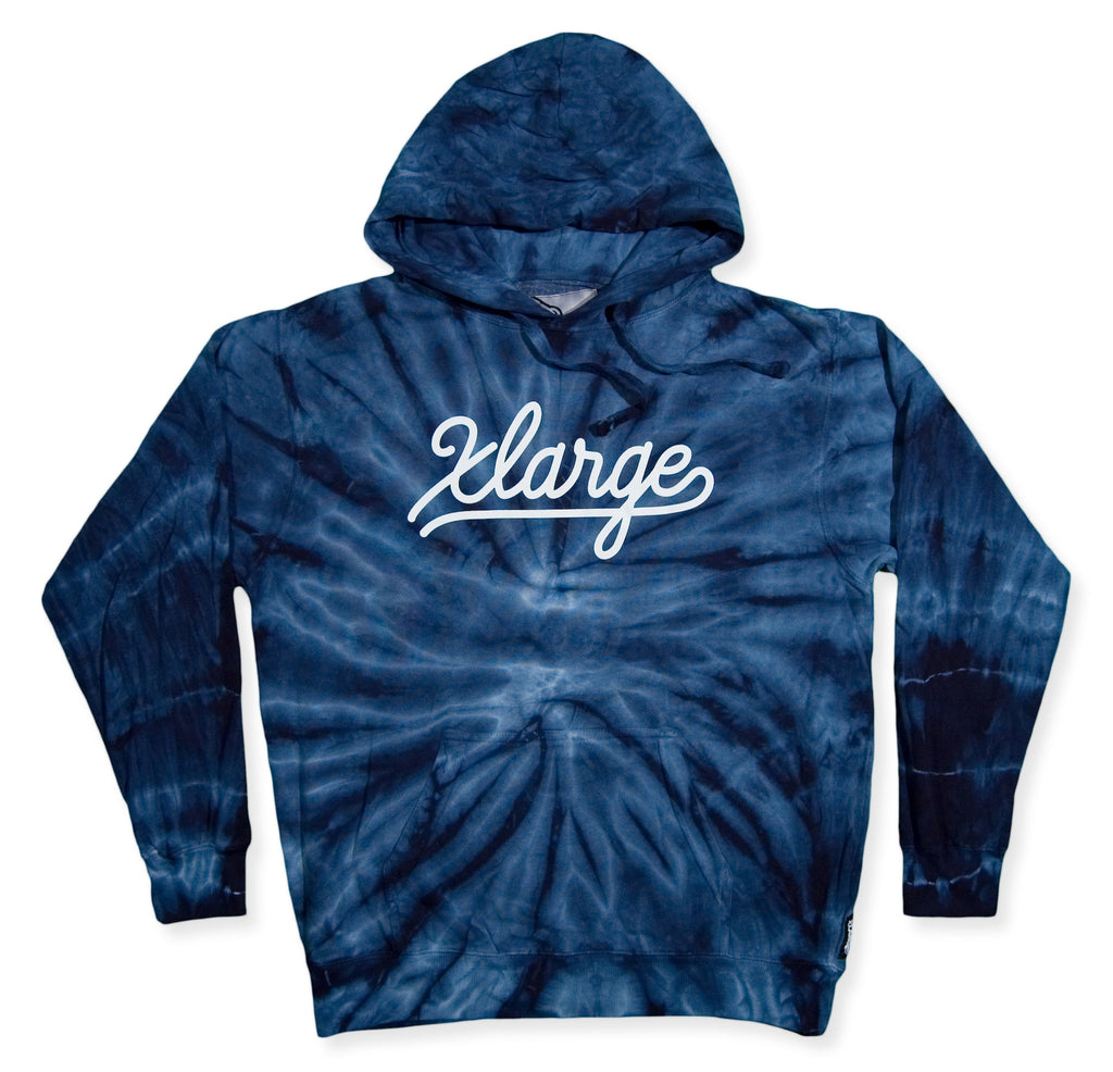 <!--2013112553-->X-LARGE - 'Save The Trees' [(Blue) Hooded Sweatshirt]