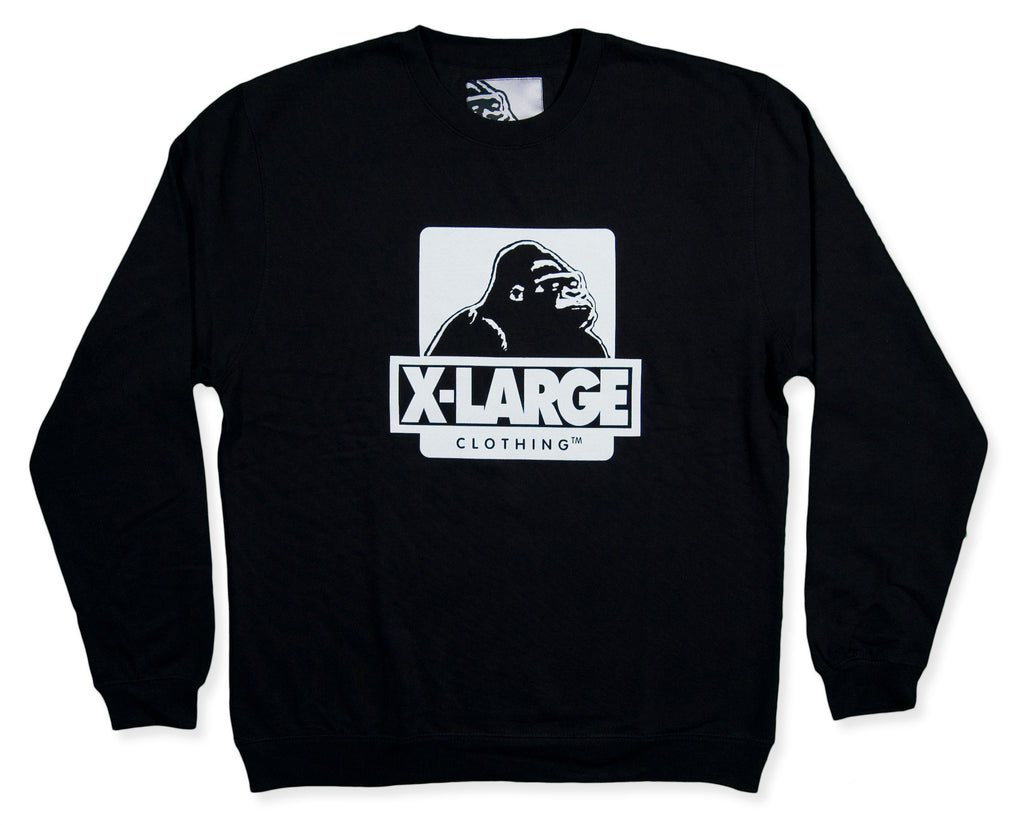 <!--2013112522-->X-LARGE - 'OG Crew' [(Black) Crewneck Sweatshirt]