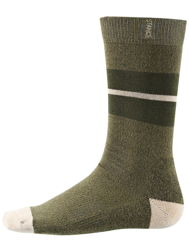 <!--2012112052-->Stance Socks - 'Everyday Casual - Sequoia' [(Dark Green) Socks]