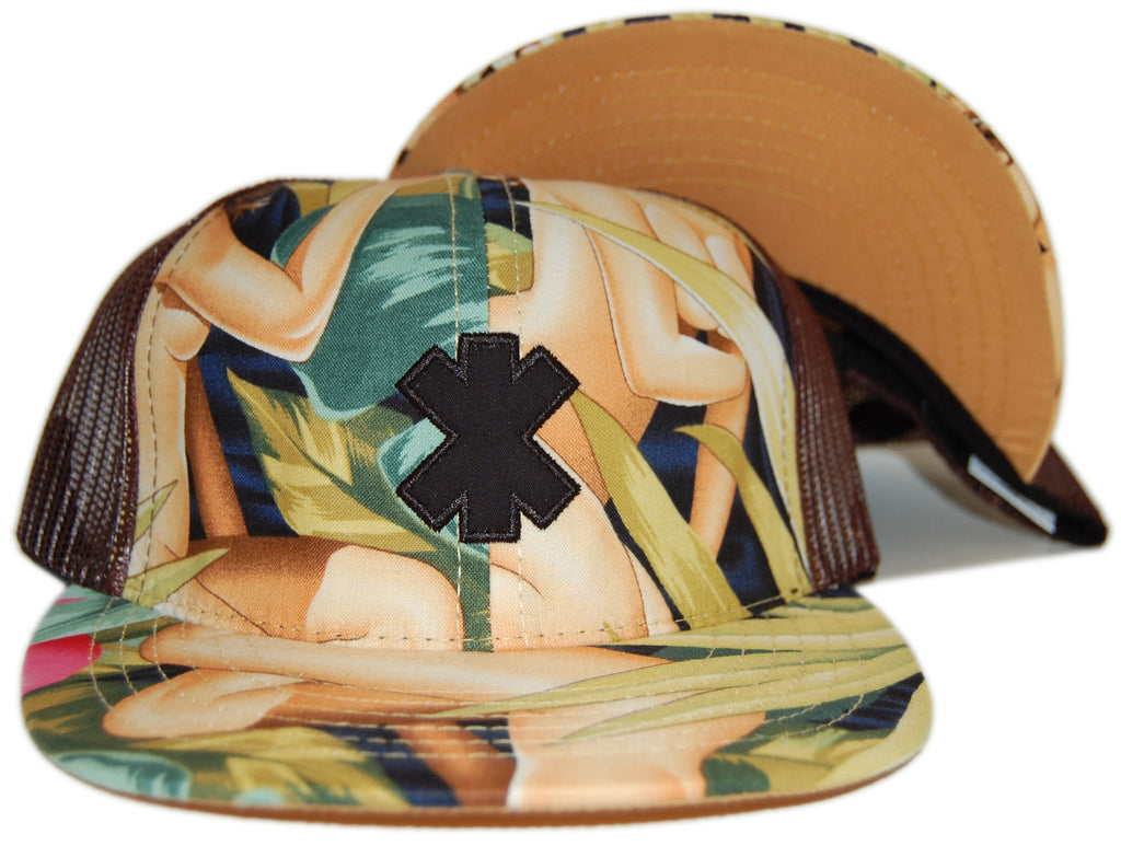 <!--2012060559-->X-LARGE - 'Routes Trucker - Girls' [(Light Brown) Snap Back Hat]