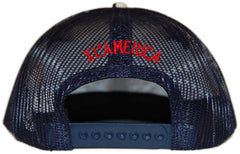 <!--020120605045314-->X-LARGE - 'Routes Trucker - Sushi' [(Dark Blue) Snap Back Hat]
