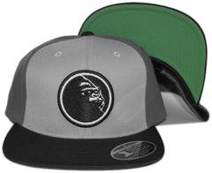 <!--020130423055978-->X-LARGE - 'Circle Ape' [(Gray) Snap Back Hat]