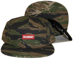 <!--2013091719-->X-LARGE - 'Tiger Stencil' [(Camo Pattern) Five Panel Camper Hat]