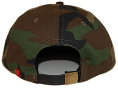 <!--2012121821-->X-LARGE - '100 Proof' [(Camo Pattern) Strap Back Hat]