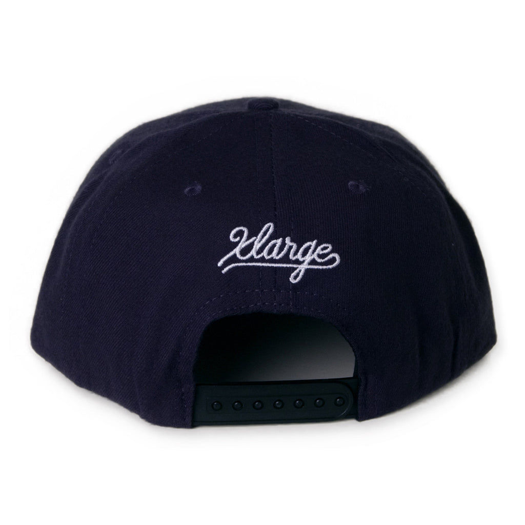 <!--020131125061299-->X-LARGE - 'G'Town' [(Dark Blue) Snap Back Hat]