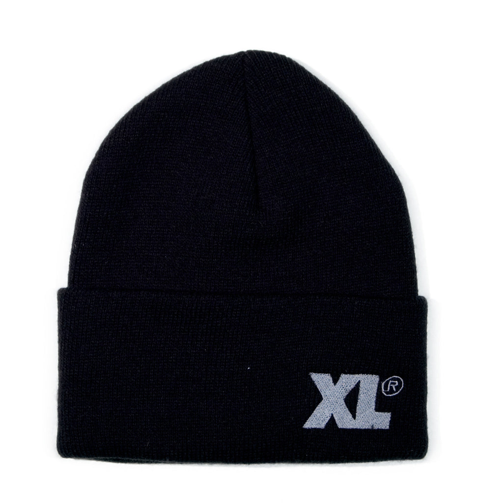 <!--020131125061296-->X-LARGE - 'XL' [(Black) Winter Beanie Hat]
