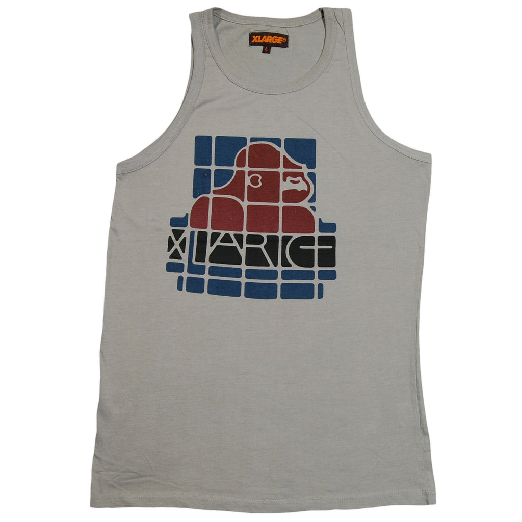 <!--2013042338-->X-LARGE - 'Spanish' [(Light Gray) Tank Top]