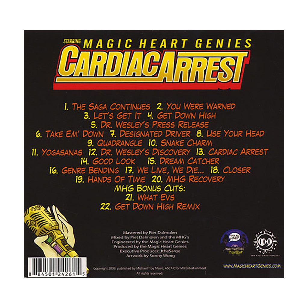 <!--020090215011924-->Magic Heart Genies - 'Cardiac Arrest' [CD]