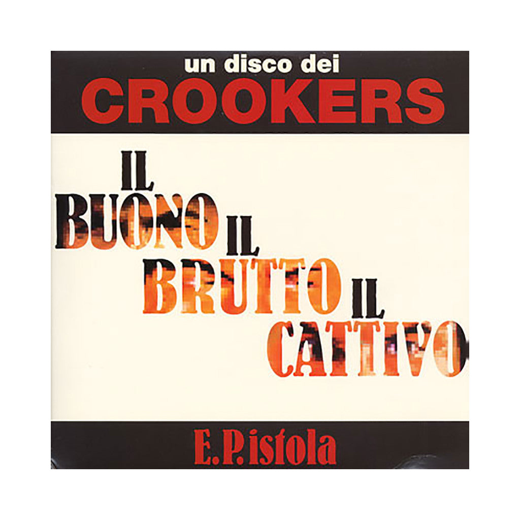 "<!--020080916014975-->Crookers - 'E.P.istola' [(Black) 12"" Vinyl Single]"