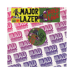 "Major Lazer - 'Hold The Line/ Hold The Line (Remix)/ Bay Of Figs' [(Black) 12"" Vinyl Single]"